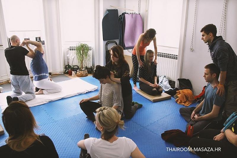tečaj tajlandske masaže
