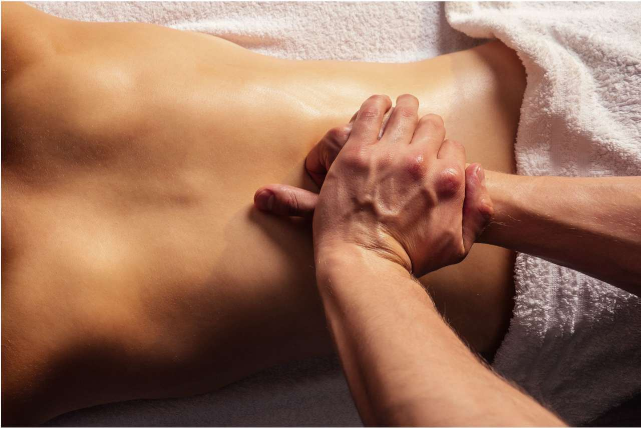 thai uljna masaža leđa